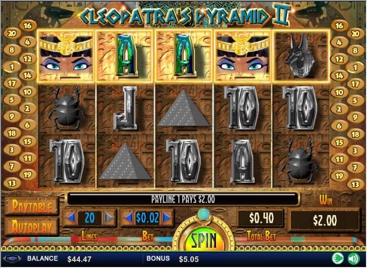 cleopatras-pyramid-ii-slot
